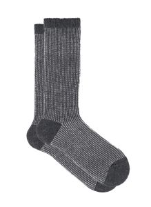 ILUX JACKY CASHMERE SOCKS IN CHARCOAL