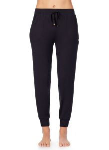 KATE SPADE SOLID LOUNGE JOGGER PANT IN BLACK