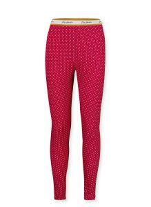 PIP STUDIO BIBI LEGGINGS IN STAR TILE RED