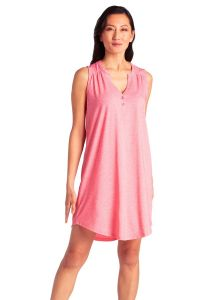 SOFTIES ELLE CHEMISE IN STRAWBERRY