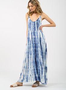 KOY RESORT BLUE BEACH SWIM MAXI DRESS