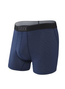 SAXX QUEST 2.0 BOXER BRIEF WITH FLY IN MIDNIGHT BLUE