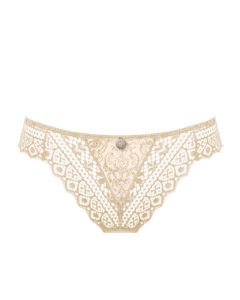 EMPREINTE CASSIOPEE THONG IN CHAMPAGNE