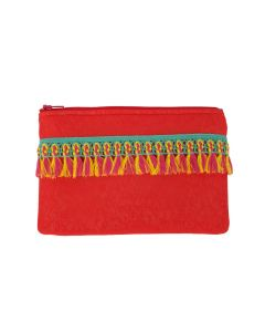 ANTIGEL LA SANTA ANTIGEL SWIM CLUTCH IN ROUGE