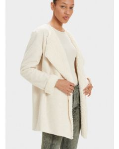 UGG ABRIANA SHAWL CARDIGAN IN CREAM