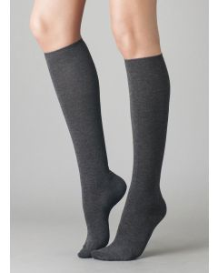 ILUX DI CASHMERE SOCKS IN CHARCOAL
