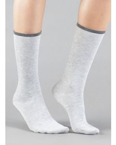 ILUX LOTUS FEATHERWEIGHT SOCKS IN ASH