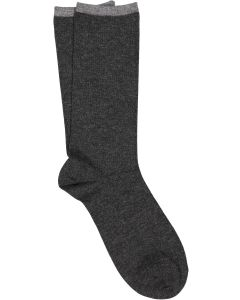 ILUX LOTUS FEATHERWEIGHT SOCKS IN CHARCOAL