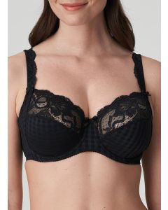 PRIMADONNA MADISON SIDE SLING WIRE BRA IN BLACK (C-E CUPS)