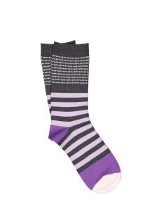 ILUX JANIS CASHMERE SOCKS IN LILAC