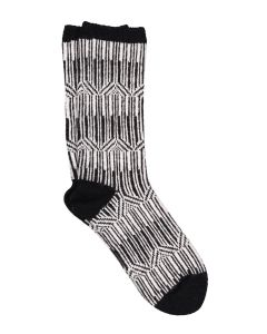 ILUX MILA CASHMERE SOCKS IN BLACK