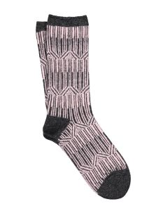 ILUX MILA CASHMERE SOCKS IN CHARCOAL