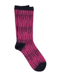 ILUX MILA CASHMERE SOCKS IN MIDNIGHT