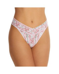 HANKY PANKY SIGNATURE LACE ORIGINAL RISE THONG IN PRAIRIE BLOOM