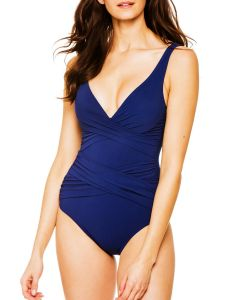 SHAN CLASSIQUE SWIM ONE PIECE IN CURACAO BLUE