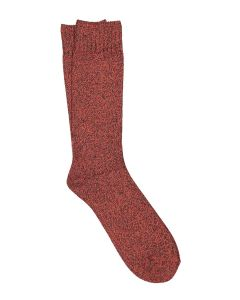 ILUX MR MATULLE MEN'S CASHMERE SOCKS IN EMBER