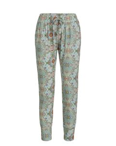 PIP STUDIO BOBIEN CUFFED PAJAMA PANT IN MOON DELIGHT BLUE