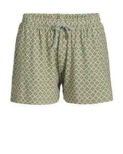 PIP STUDIO BOB PAJAMA SHORT IN HABIBI GREEN