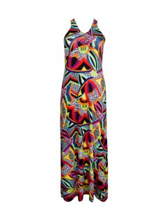 ANTIGEL LA MAASAI SWIM MAXI DRESS