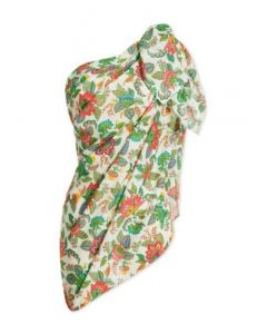 PIP STUDIO ALICE SCARF IN OFF WHITE