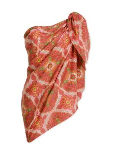 PIP STUDIO ALICE SCARF IN DARK PINK