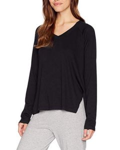 PJ HARLOW PJ HARLOW L/S V-NECK SWEATER IN BLACK
