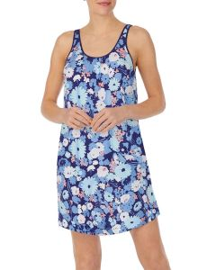 KATE SPADE SWING FLORAL CHEMISE IN NAVY