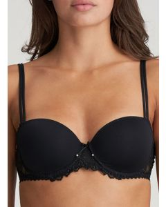 MARIE JO JANE BALCONNET CONTOUR BRA IN BLACK