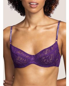 ANDRES SARDA LYNX FULL CUP BRA IN PURPLE