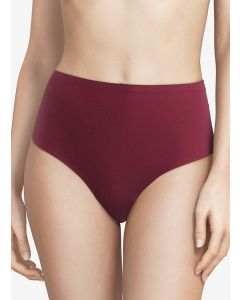CHANTELLE SOFT STRETCH RETRO THONG IN RASPBERRY