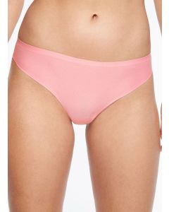 CHANTELLE SOFT STRETCH THONG IN PINK LEMONADE