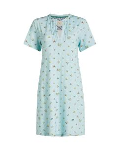 PIP STUDIO DOMIR S/S SLEEPSHIRT IN MOSS BLUE