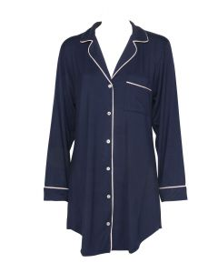 EBERJEY GISELE NIGHTSHIRT IN NAVY