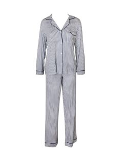 EBERJEY SLEEP CHIC PAJAMA SET IN NORDIC STRIPES