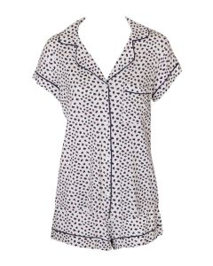 EBERJEY SLEEP CHIC SHORT PJ SET IN FOXTAIL