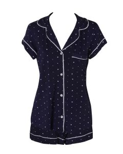 EBERJEY SLEEP CHIC SHORT PJ SET IN STARS