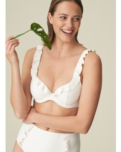 MARIE JO CELINE SWIM PLUNGE BRA IN NATURAL
