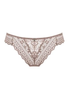 EMPREINTE CASSIOPEE THONG IN ROSE SAUVAGE