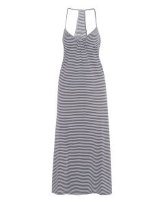 EBERJEY COTTON STRIPES MAXI IN INDIGO