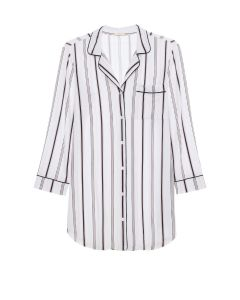 EBERJEY SLEEP CHIC NIGHTSHIRT IN STRIPE
