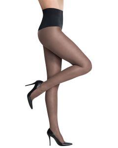 COMMANDO KEEPER SHEER TIGHTS IN BLACK