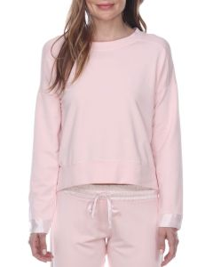 PJ HARLOW PJ HARLOW SWEATSHIRT IN BLUSH