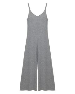 EBERJEY CHARLIE JUMPSUIT IN HEATHER GREY