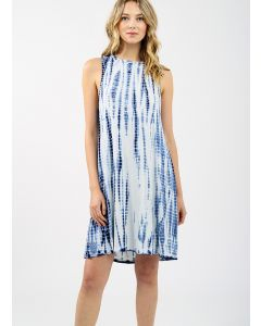 KOY RESORT BLUE BEACH SWIM TANK DRESS