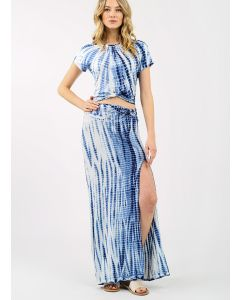 KOY RESORT BLUE BEACH SWIM MAXI SKIRT