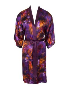 LISE CHARMEL FORET LUMIERE SHORT ROBE IN PURPLE