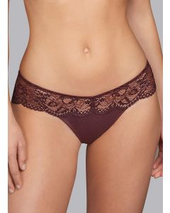 ANDRES SARDA TURQUETA BOXER THONG IN CHOCOLATE