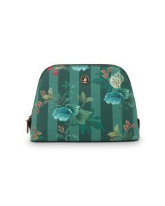 PIP STUDIO COSMETIC BAG MEDIUM COSMETIC BAG IN GREEN