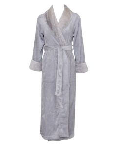 NATORI ALPINE LONG ROBE IN ASH GREY