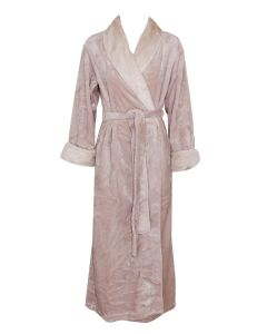 NATORI ALPINE LONG ROBE IN NATURAL